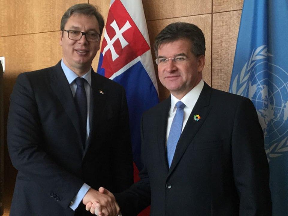 Vučić sa Lajčakom: Radićemo na dijalogu; EU će pomoći Srbiji u pandemiji