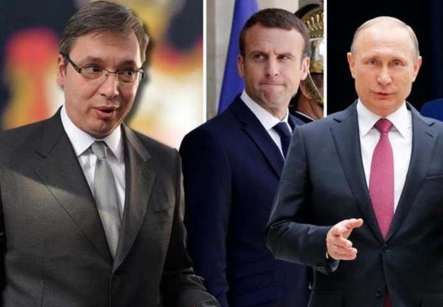 B92: Vučić danas razgovara sa Makronom i Putinom