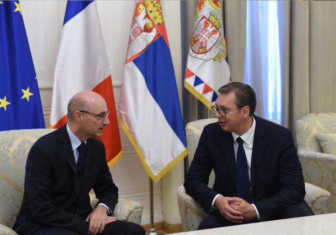 Vučić se sastao sa Mondolonijem