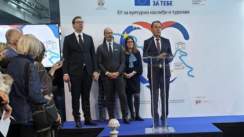 Vučić: Ogromna zahvalnost EU za podršku razvoju istoka Srbije