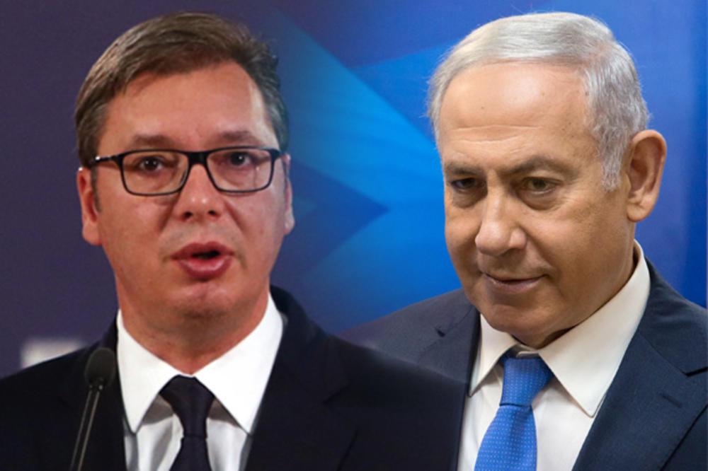 Vučić razgovarao s Netanjahuom: Potvrda prijateljstva dve zemlje