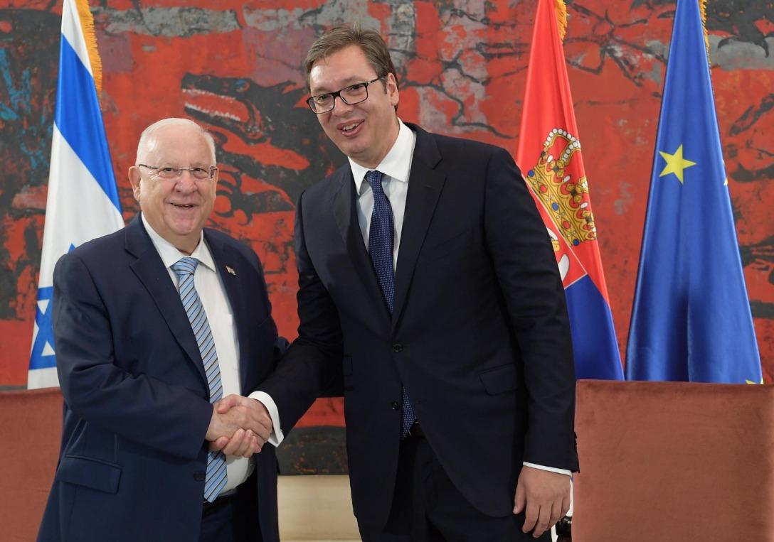 Predsednik Izraela pozvao Vučića da izrazi podršku Srbiji