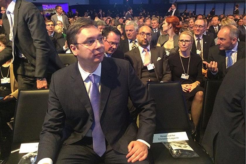 Niz susreta Vučića sa zvaničnicima u Davosu