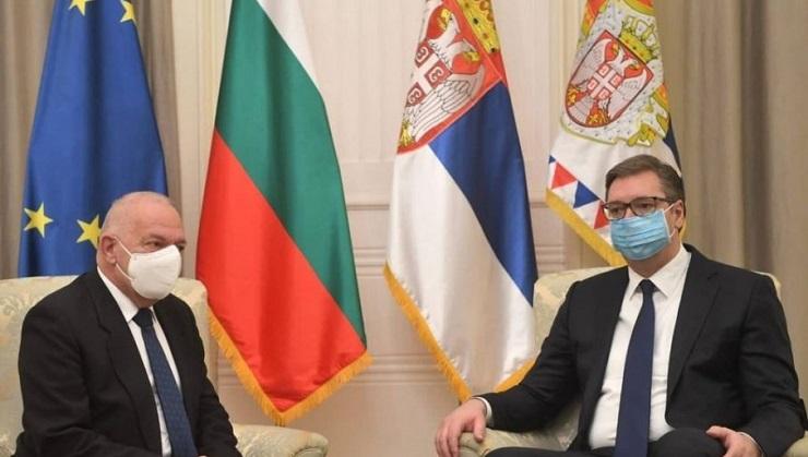 Vučić zahvalio Vlajkovu na doprinosu srpsko-bugarskih odnosa