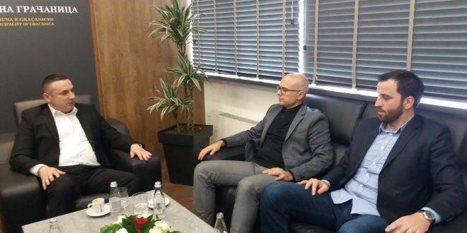 Miloš Vučević započeo posetu centralnom Kosovu