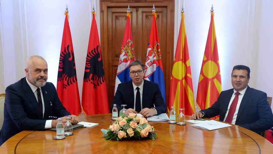 Vučić sa Ramom i Zaevim: Obnovljena inicijativa za saradnju