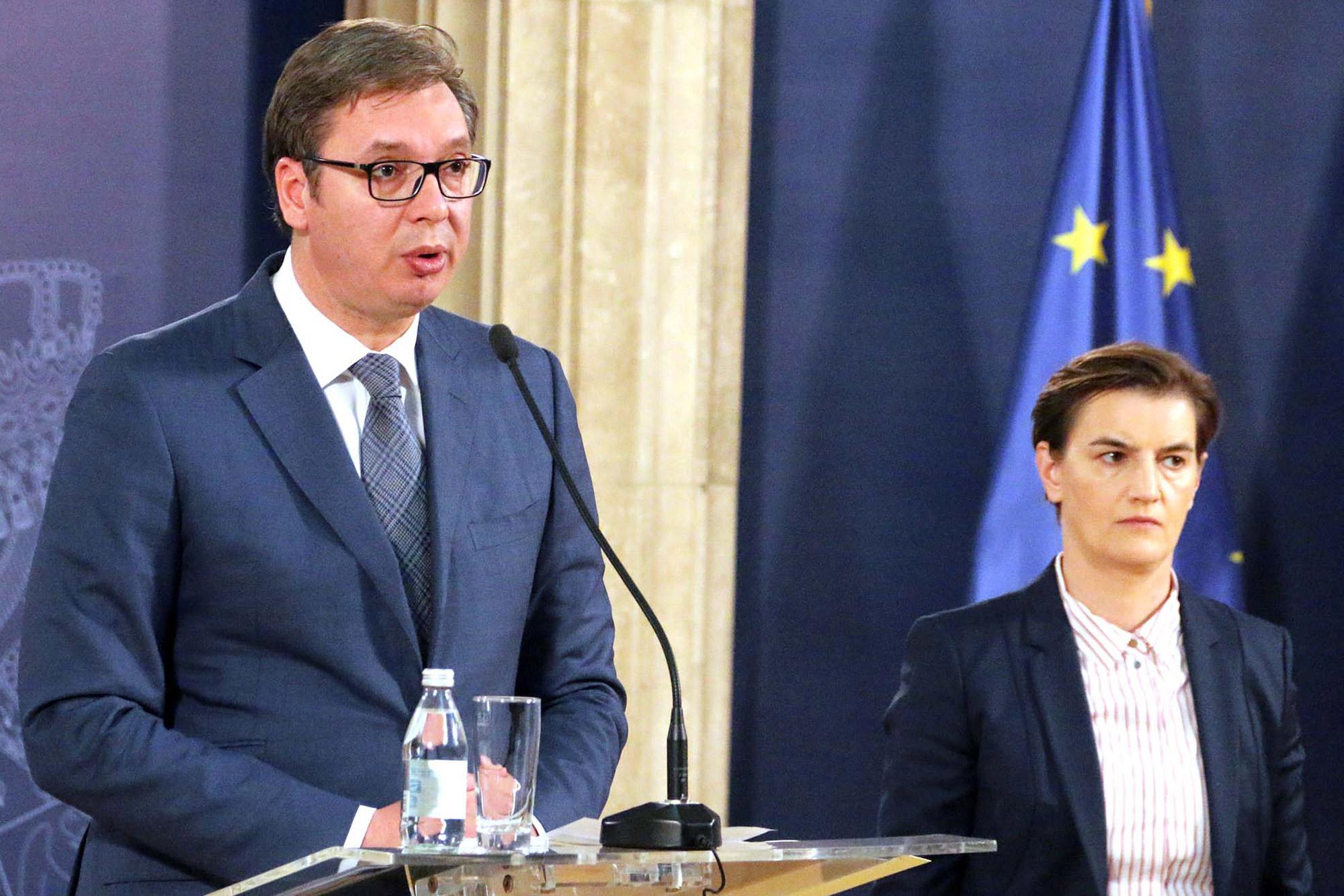 Vučić i Brnabić sutra sa Grenelom i Bolerom