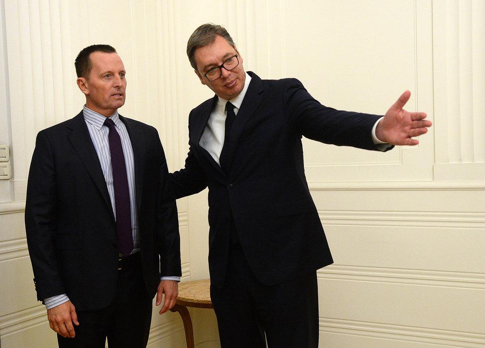 Vučić danas sa Grenelom