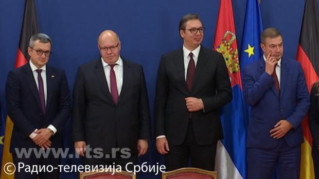 Nemci otvaraju još dve fabrike, Vučić poručuje: Beskrajna korist za Srbiju