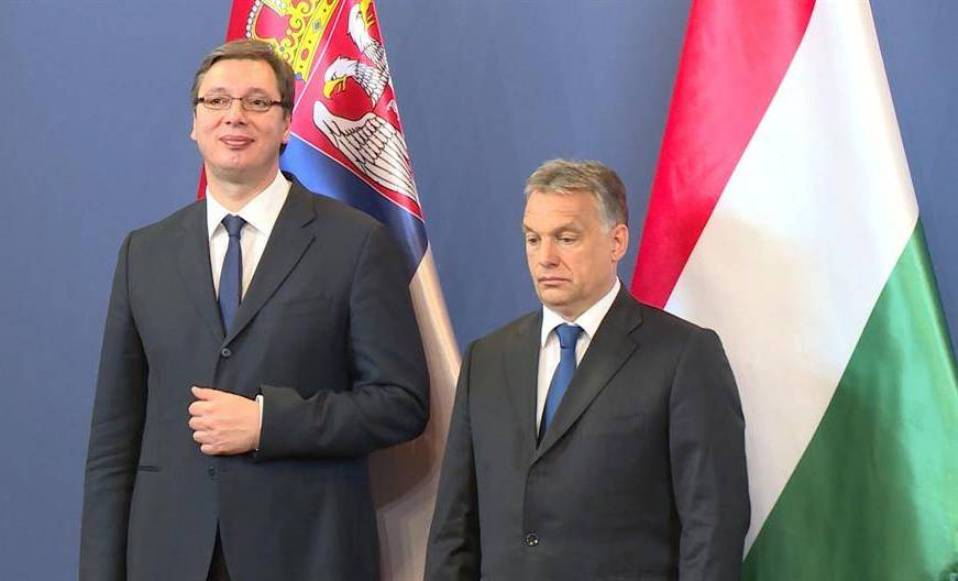 Vučić, nenajavljeno, sa Orbanom u Budimpešti