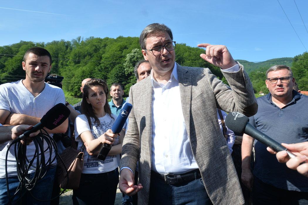 Vučić: Nismo u lakoj poziciji, Merkel mi nije pomenula plan