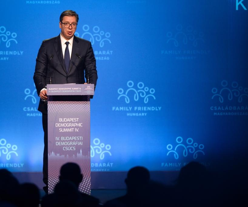 Vučić: Demografija će biti najvažnije pitanje u regionu