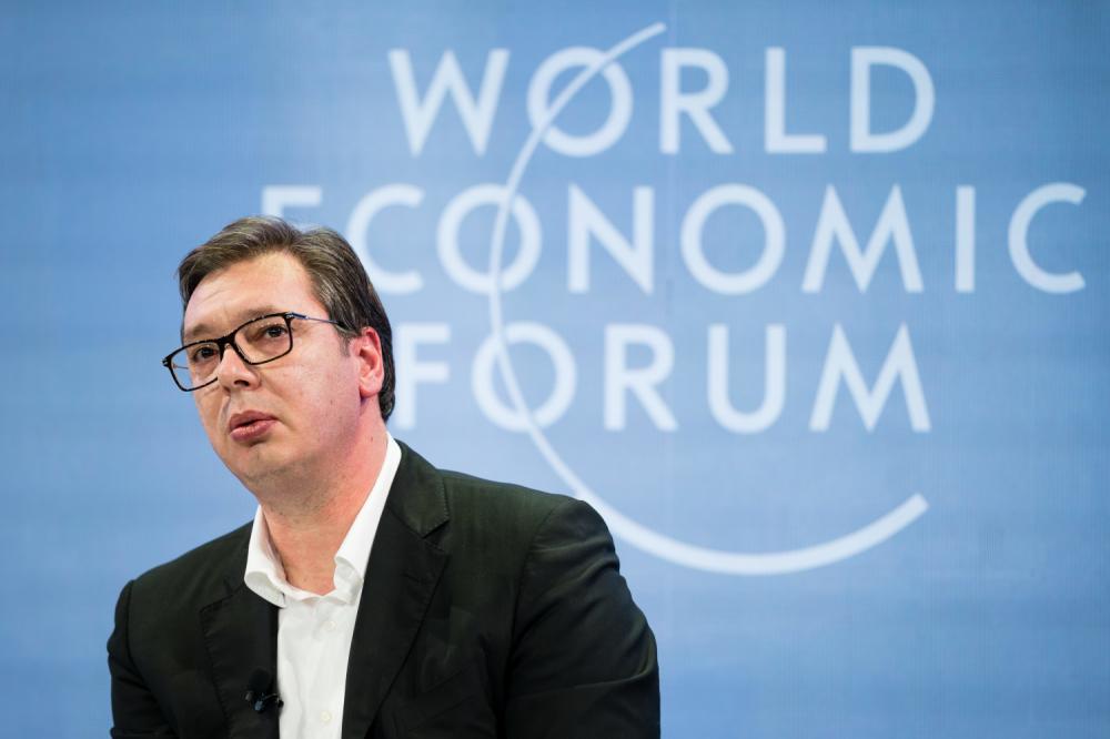 Vučić: Važno da smo u Davosu,da je Srbija dobro predstavljena