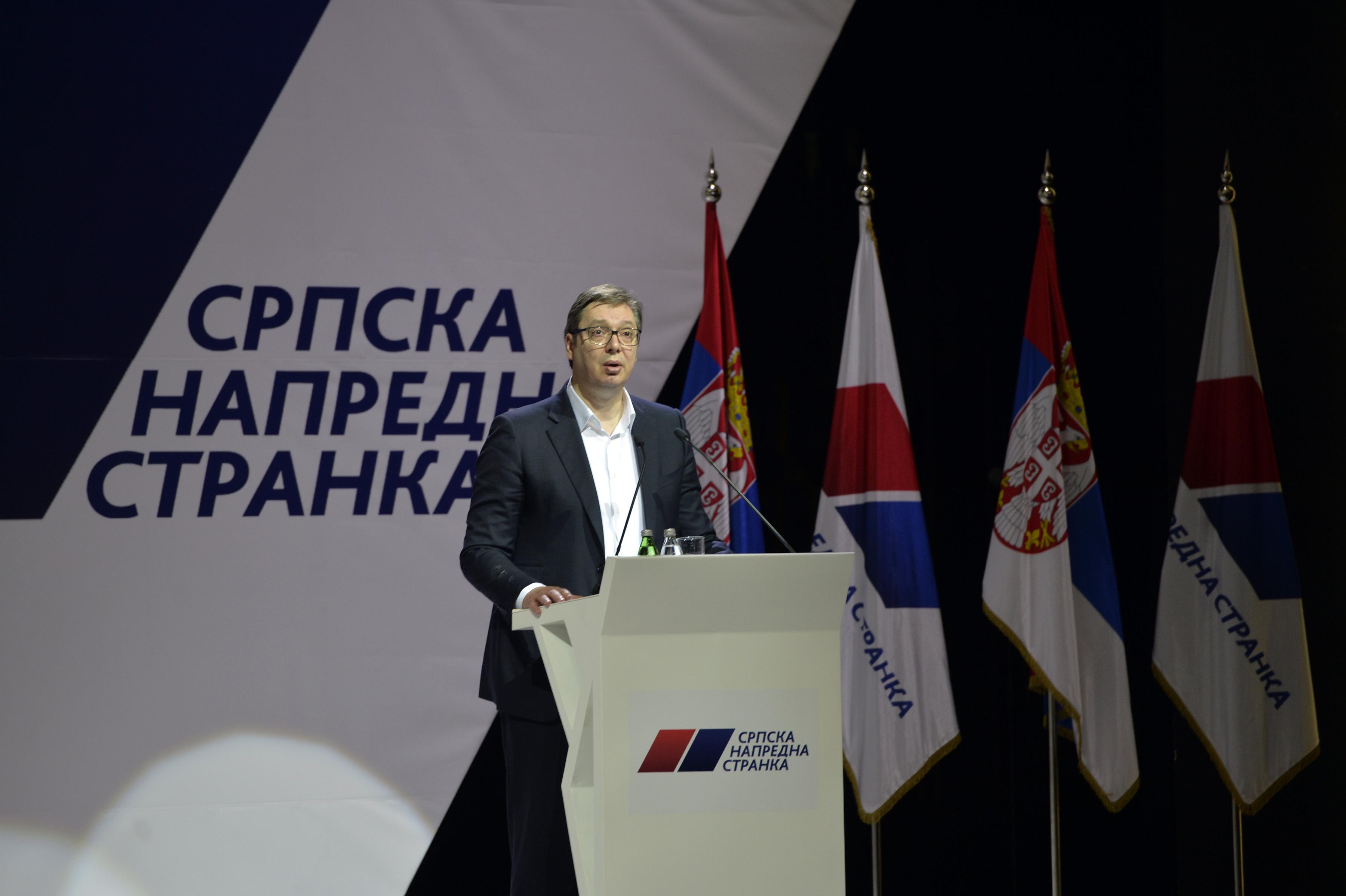 Vučić: Predlažem jednu tačku, izborne aktivnosti...