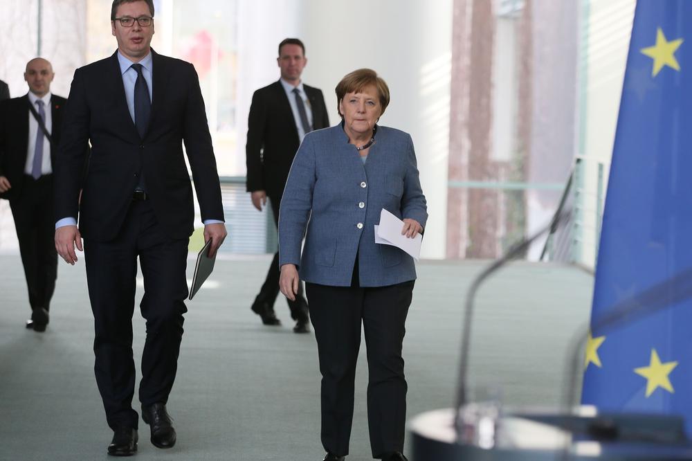 Zajbert: Kancelarka i Vučić sastanak video linkom
