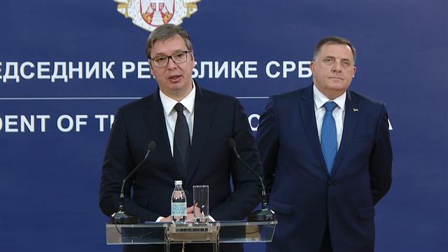 Vučić i Dodik: Narednih dana još značajnija pomoć za Republiku Srpsku