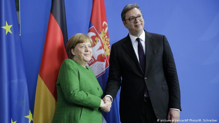 O Merkel sve najbolje, jedino što nas deli je stav o KiM