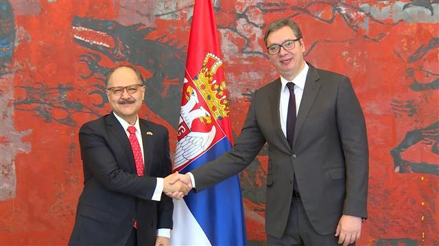 Vučić primio akreditive novog ambasadora Meksika