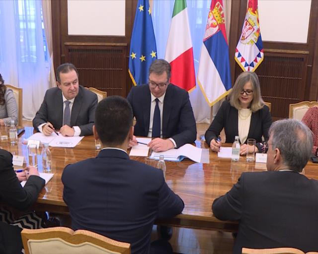 Duga tradicija dobrih i prijateljskih odnosa Srbije i Italije