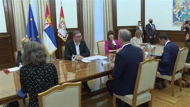 Vučić sa Bramercom: Saradnja zadovoljavajuća