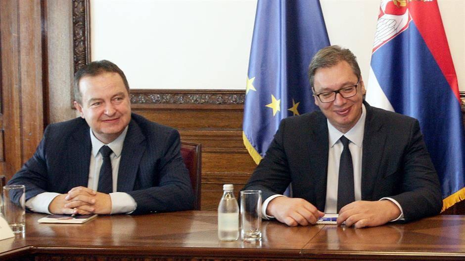 Dačić o Vučiću: Radimo zajedno, nemojte da nas delite