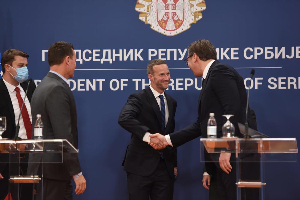 DFC: Vučić izuzetan i jak lider, s jasnom vizijom napretka