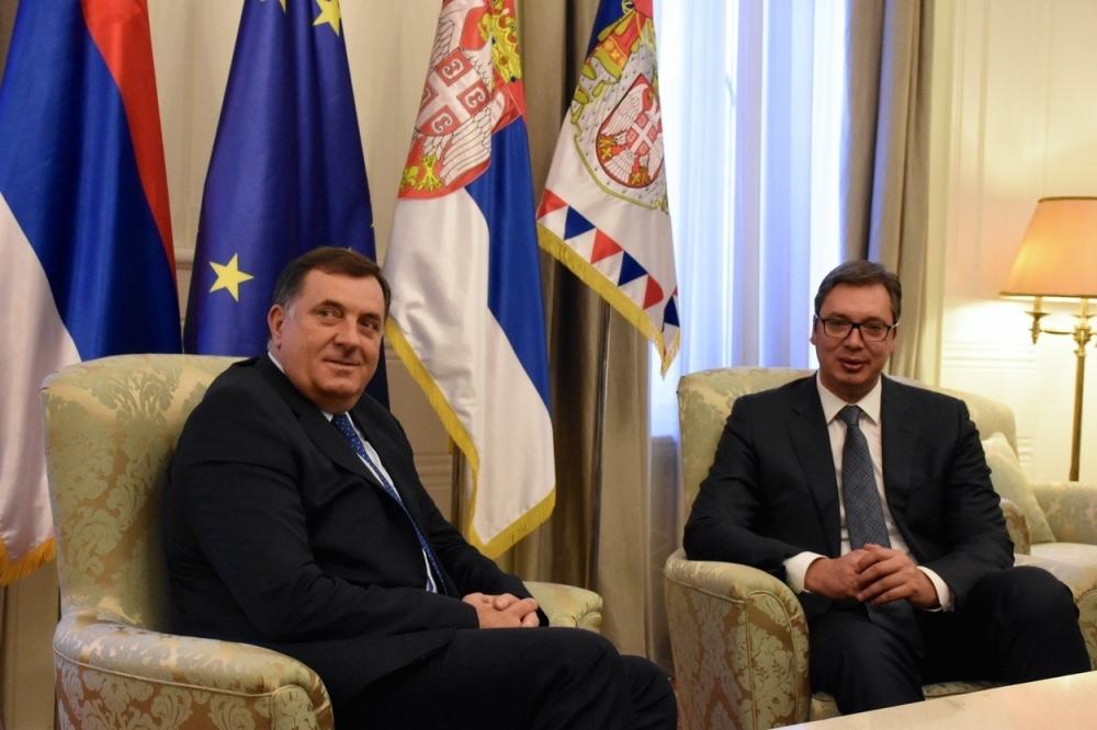 Vučić sutra sa Dodikom