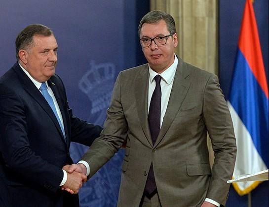 Vučić se sastao sa Dodikom
