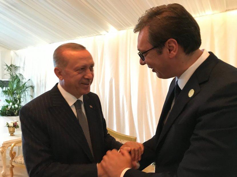 Erdogan u dvodnevnoj poseti Srbiji: Trilaterala i početak gradnje autoputa