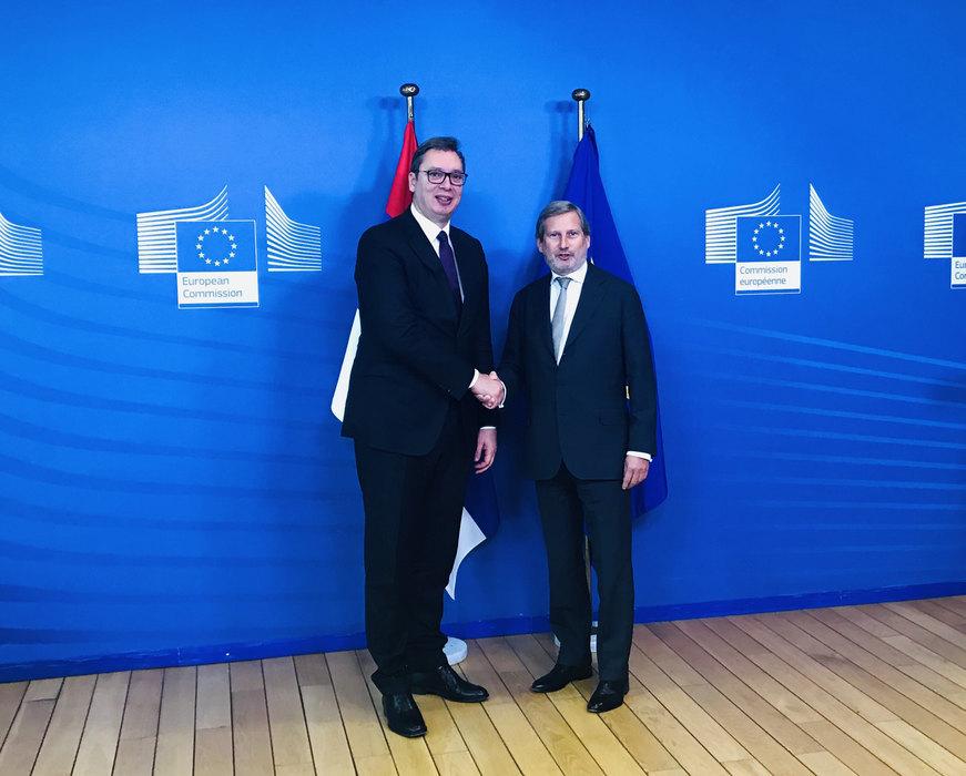 Han: Vučić me pitao koji razlog sad ima da nastavi dijalog sa Prištinom
