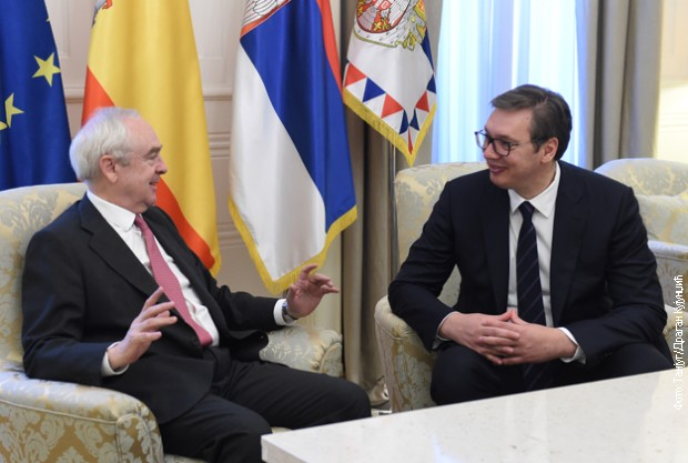 Vučić: Srbija će uvek biti iskren prijatelj Španije