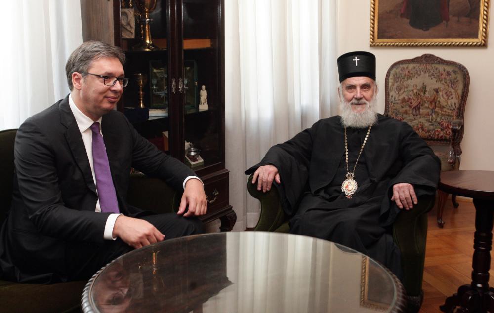 Vučić Irineju: Nikada niste bili potrebniji srpskom narodu