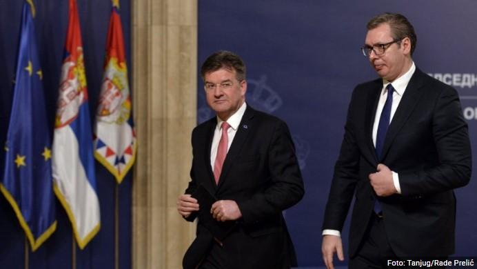 Završen sastanak Vučića i Lajčaka