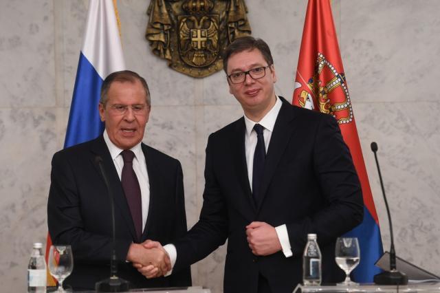 Vučić i Lavrov sutra o KiM i inicijativi Vašingtona