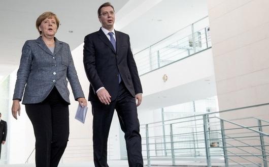 Vučić: Merkelova potvrdila da Nemačka i Evropa žele brzo rešavanje kosovskog pitanja