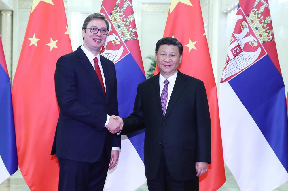 Vučić sa Sijem: Kina i Srbija zajedno će prebroditi teškoće