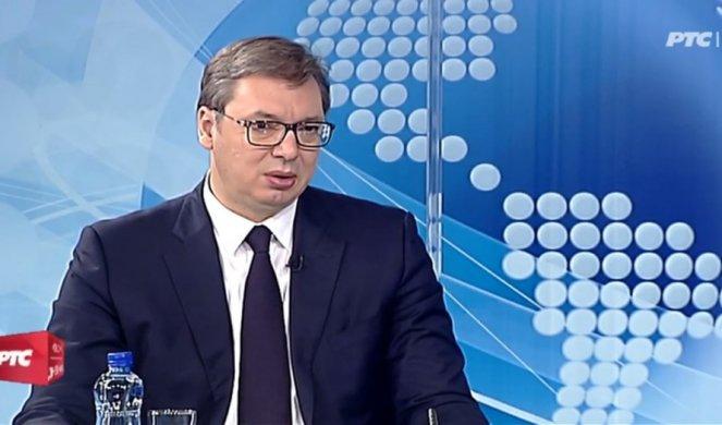 Vučić za RTS: Vlada rat za vakcine, u maju i novembru po 30 evra svima, penzionerima još 50 evra