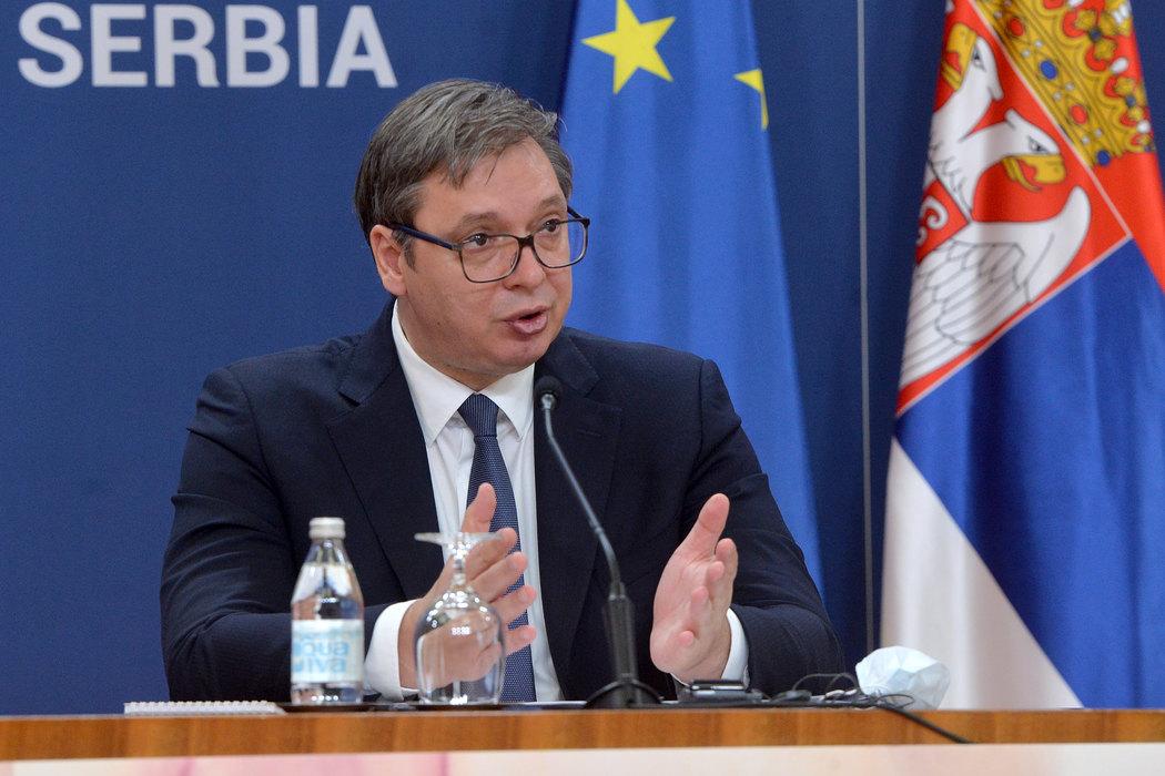 Vučić: Oni su došli samo zbog međusobnog priznanja