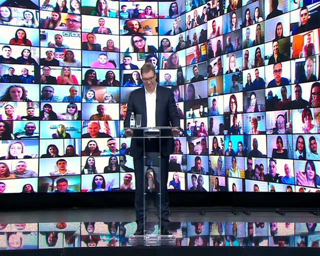 Vučić: Kad radimo i borimo se - niko ne može da nas pobedi