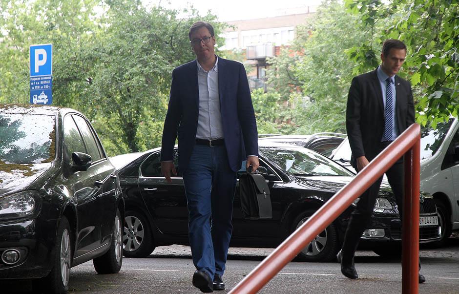 Vučić prisustvuje početku izgradnje kovid bolnice u Novom Sadu