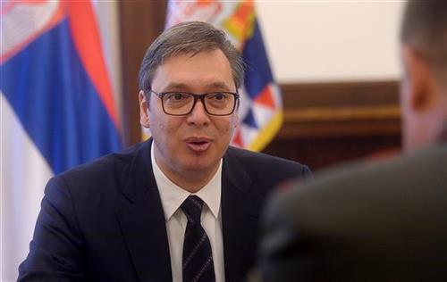 Vučić i Parhomčik o saradnji Srbije i Belorusije