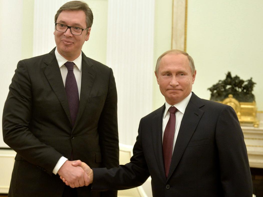 Vučić s Putinom u Sočiju