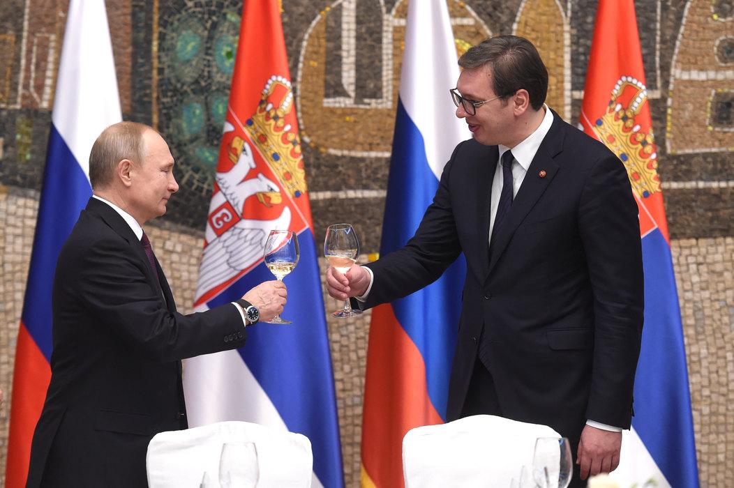 Velika pažnja medija u regionu Putinu, osim u Crnoj Gori