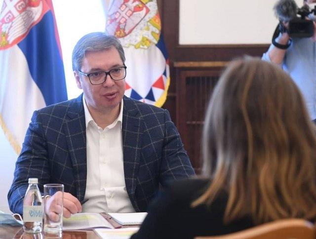 Vučić sa Van Gelder o partnerstvu sa Svetskom bankom
