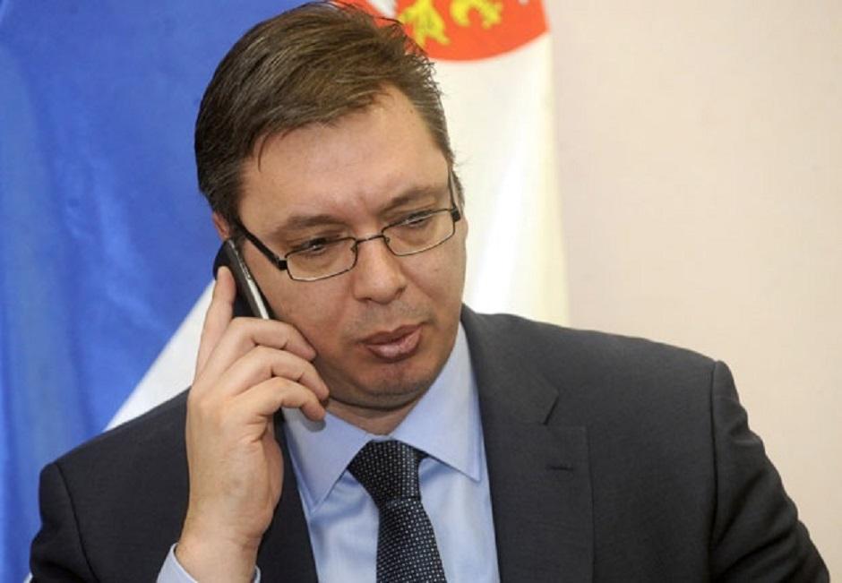 Vučić razgovarao telefonom sa premijerom UK Džonsonom, jedna od tema KiM