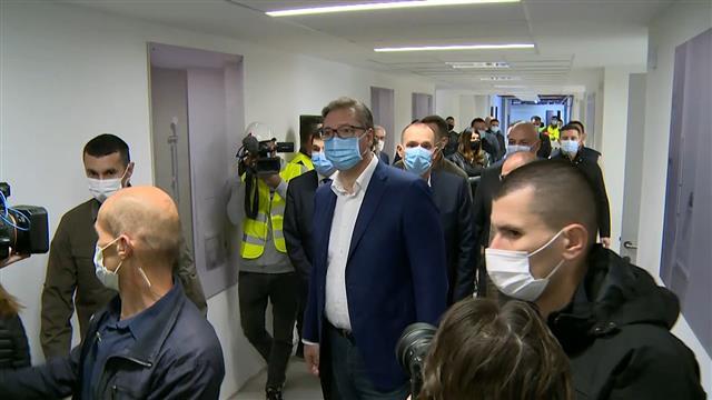 Vučić: KCS za 11 meseci, jačanje zdravstva snaži moć Srbije