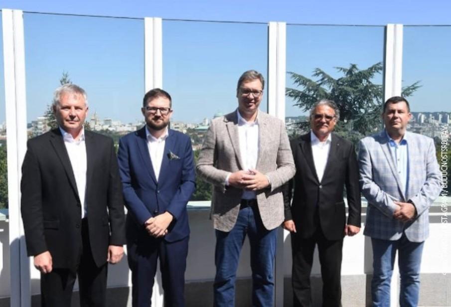 Vučić sa ambasadorima zemalja Višegradske grupe