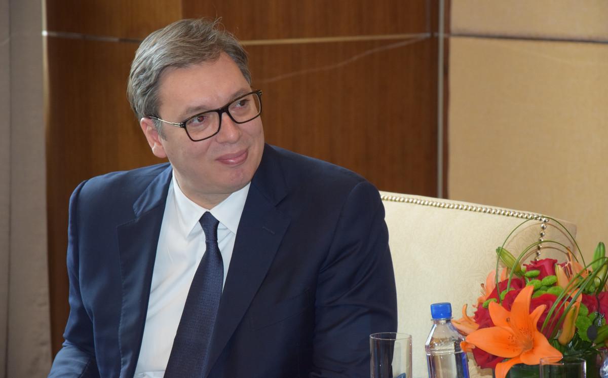 Vučić čestitao Putinu Dan branilaca Otadžbine