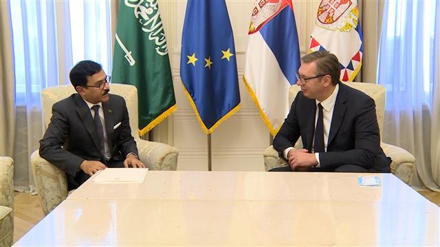 Vučić razgovarao sa ambasadorom Saudijske Arabije