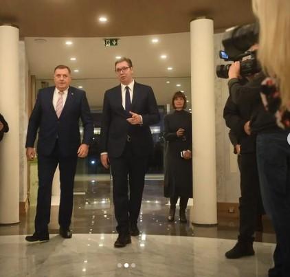 Vučić: Neće biti blokade na Drini; Dodik: Nisam spreman da za Republiku Srpsku žrtvujem mir